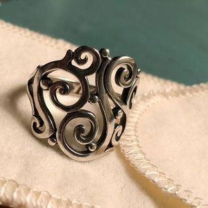 James Avery Open Sorrento Ring size 8